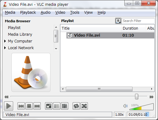 does vlc media player play iso files