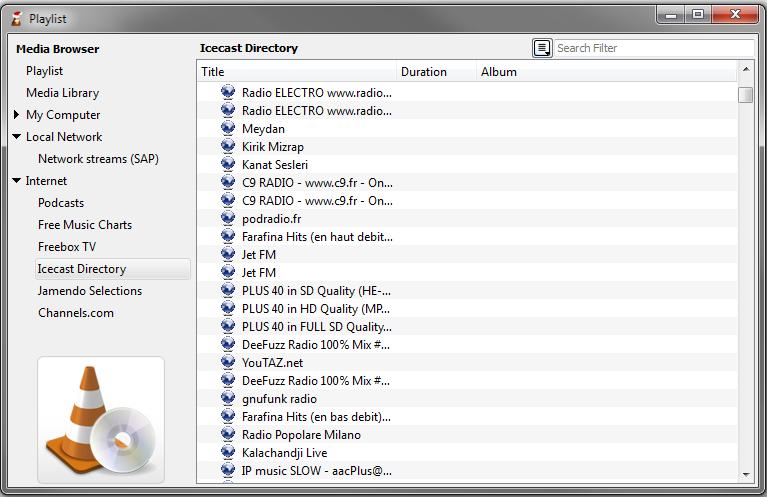 Documentation:Playlist - VideoLAN Wiki